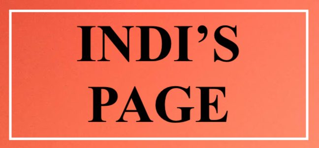 Indi's Page